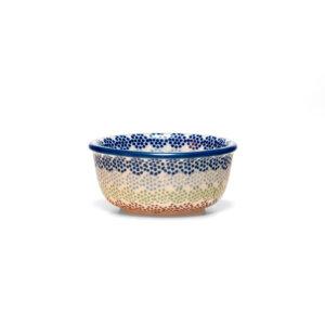 Bunzlauer Keramik Schälchen, Förmchen 9cm Dekor AS37 Handarbeit Neu