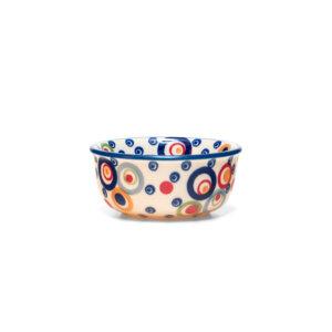 Bunzlauer Keramik Schälchen, Förmchen 9cm Dekor AS38 Handarbeit Neu