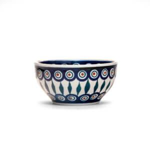 Bunzlauer Keramik Müslischale Schale 13cm Dekor 54 Handarbeit