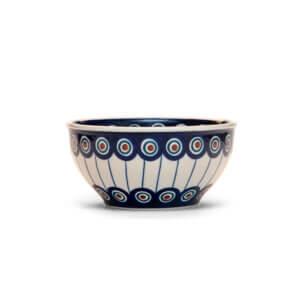 Bunzlauer Keramik Müslischale Schale 13 cm Dekor 54A Handarbeit