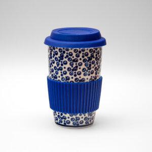 Bunzlauer Keramik Becher To Go 350ml Dekor MAGD Handarbeit