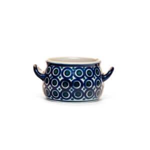 Bunzlauer Keramik Suppentasse 11cm Dekor 58 Handarbeit