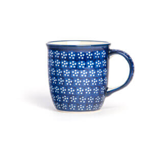 Bunzlauer Keramik Tasse mit Henkel 320ml Dekor A-226A Handarbeit