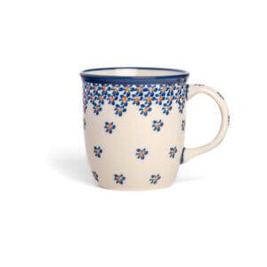 Bunzlauer Keramik Tasse mit Henkel 320ml Dekor A-882A Handarbeit
