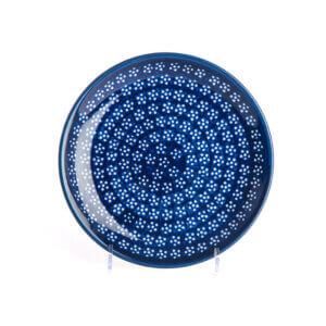 Bunzlauer Keramik Teller oval 19.5 cm Dekor A-226A Handarbeit