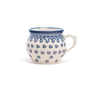 Bunzlauer Keramik Kugeltasse 400ml Dekor A-882A Handarbeit