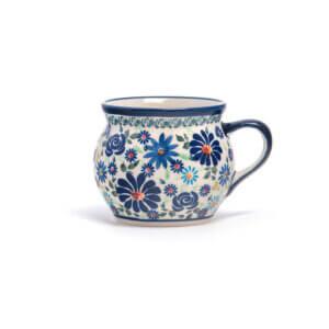 Bunzlauer Keramik Kugeltasse 400ml Premium Kollektion DU-126 Handarbeit