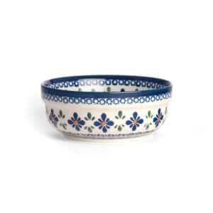 Bunzlauer Keramik Schüssel rund 15.7 cm Dekor A-221A Handarbeit