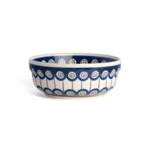 Bunzlauer Keramik Schüssel rund 15.7 cm Dekor D-8 Handarbeit