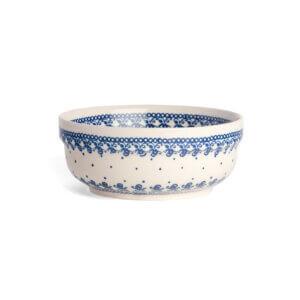 Bunzlauer Keramik Schüssel rund 15.7 cm Dekor D-866 Handarbeit