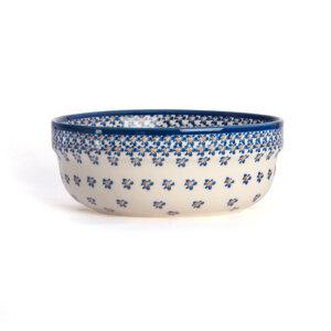 Bunzlauer Keramik Schüssel rund 20 cm Dekor A-882A Handarbeit