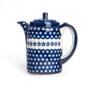Bunzlauer Tee-/Kaffeekanne Kanne 1.2 L Dekor A-166A Handarbeit