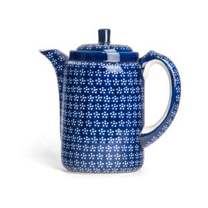 Bunzlauer Tee-/Kaffeekanne Kanne 1.2 L Dekor A-226A Handarbeit