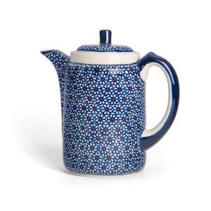 Bunzlauer Tee-/Kaffeekanne Kanne 1.2 L Dekor D-120 Handarbeit