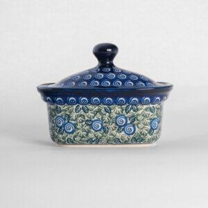 Bunzlauer Keramik Butterbox Butterdose für 250g Dekor A-1073A