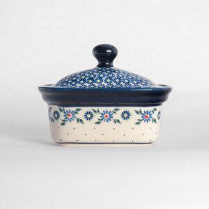 Bunzlauer Keramik Butterbox Butterdose für 250g Dekor A-1163A