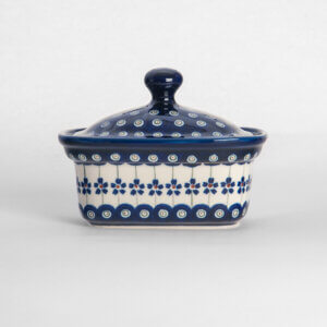 Bunzlauer Keramik Butterbox Butterdose für 250g Dekor A-166A