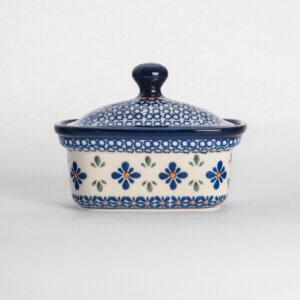 Bunzlauer Keramik Butterbox Butterdose für 250g Dekor A-221A