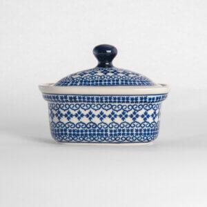 Bunzlauer Keramik Butterbox Butterdose für 250g Dekor D-922