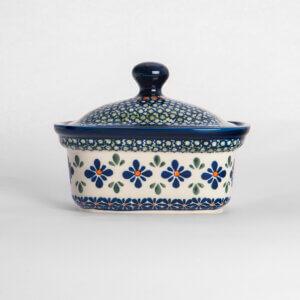Bunzlauer Keramik Butterbox Butterdose für 250g Dekor DU-60