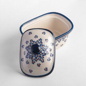 Bunzlauer Keramik Butterbox Butterdose für 250g Dekor A-882A